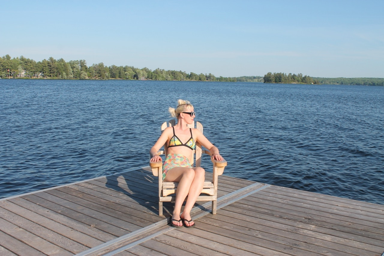 Ontario Road Trip Must-Do: Enjoy a dockside break at Viamede Resort The Kawarthas.