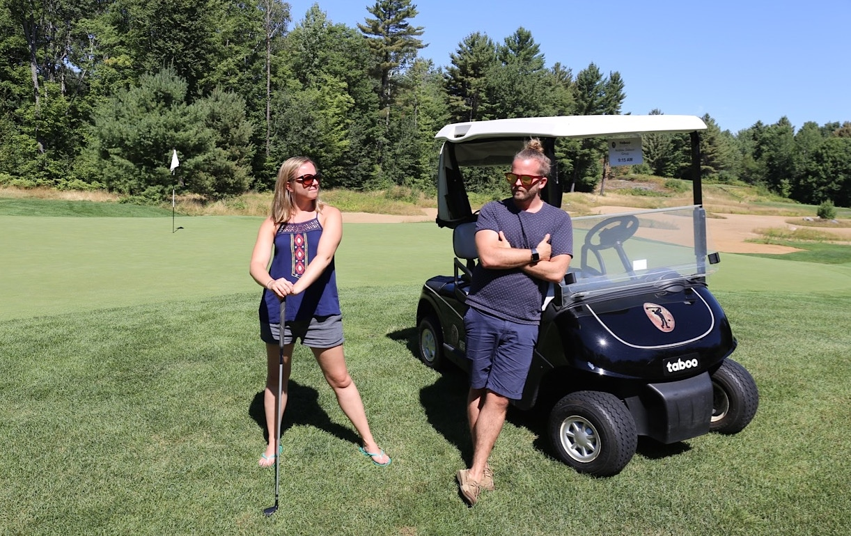 Taboo Golf offers the best 18 holes in Gravenhurst, Muskoka.