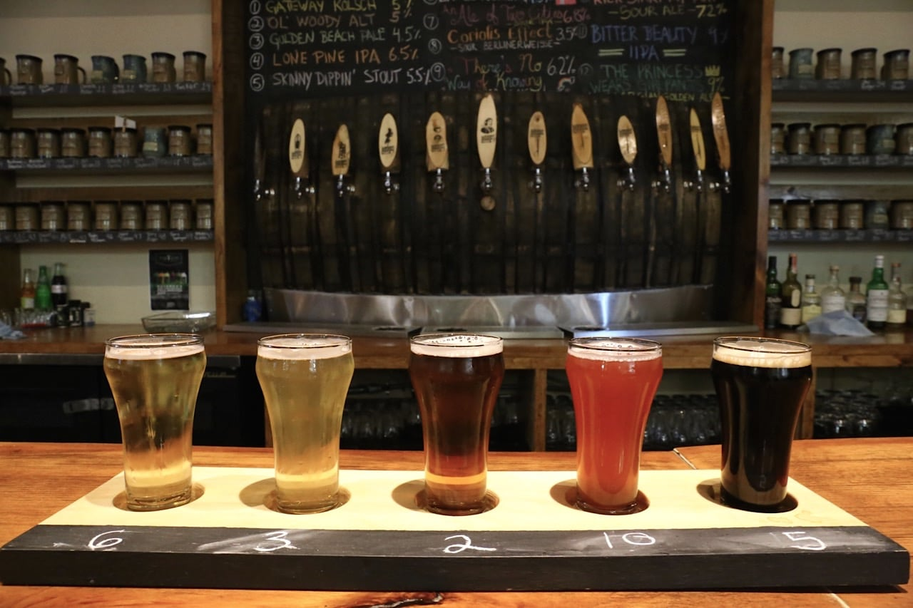 Sawdust City is a craft brewery near Taboo Resort.