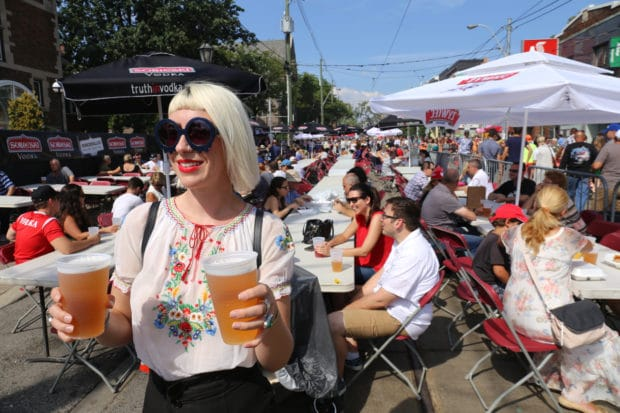 Pierogi Pilgrimage a Score for Sausage Fans at Roncesvalles Polish Fest