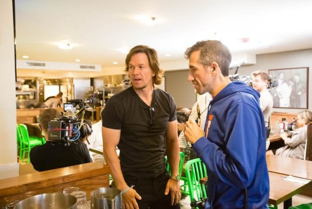 Wahlburgers Celebrates TIFF by Romancing Media with Mark Wahlberg