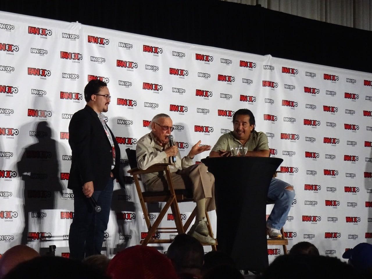 Marvel's Stan Lee spoke at FAN EXPO Canada 2016 in Toronto.