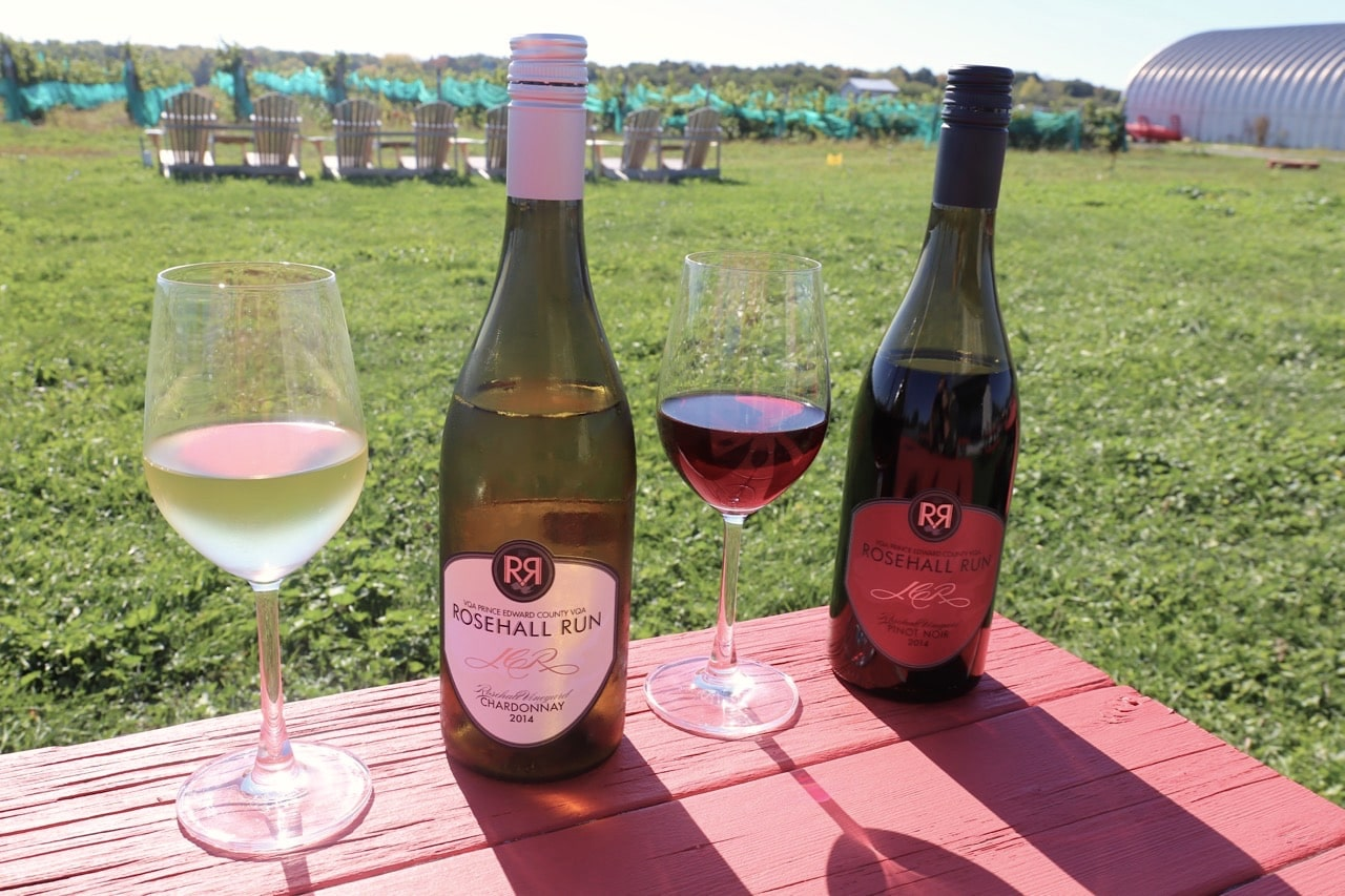 Enjoy an al fresco wine tasting at Rosehall Run.