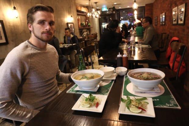 Pho Vistro Vietnamese Restaurant on Queen Street West in Toronto