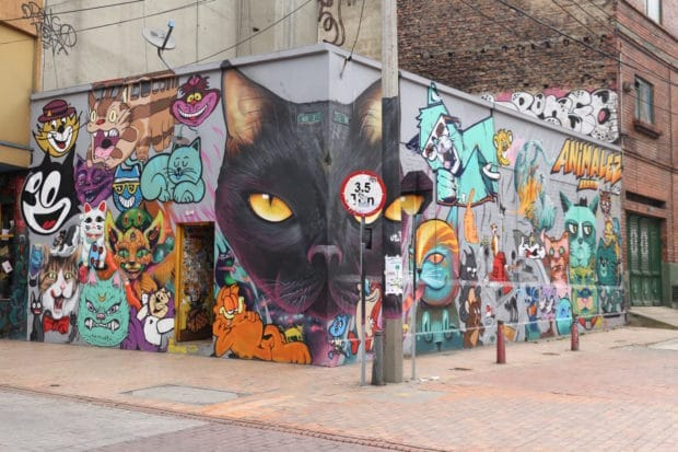 Street Art Fans Enjoy a Colombian History Lesson with Bogota Graffiti