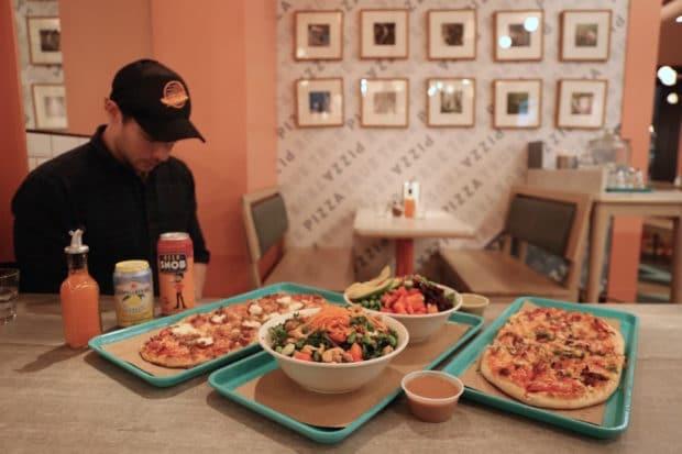 True True Pizza on King East in Toronto