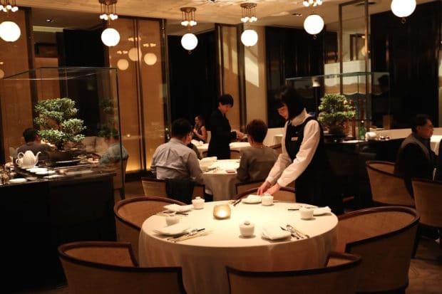 Ya Ge Chinese Restaurant at Mandarin Oriental Taipei