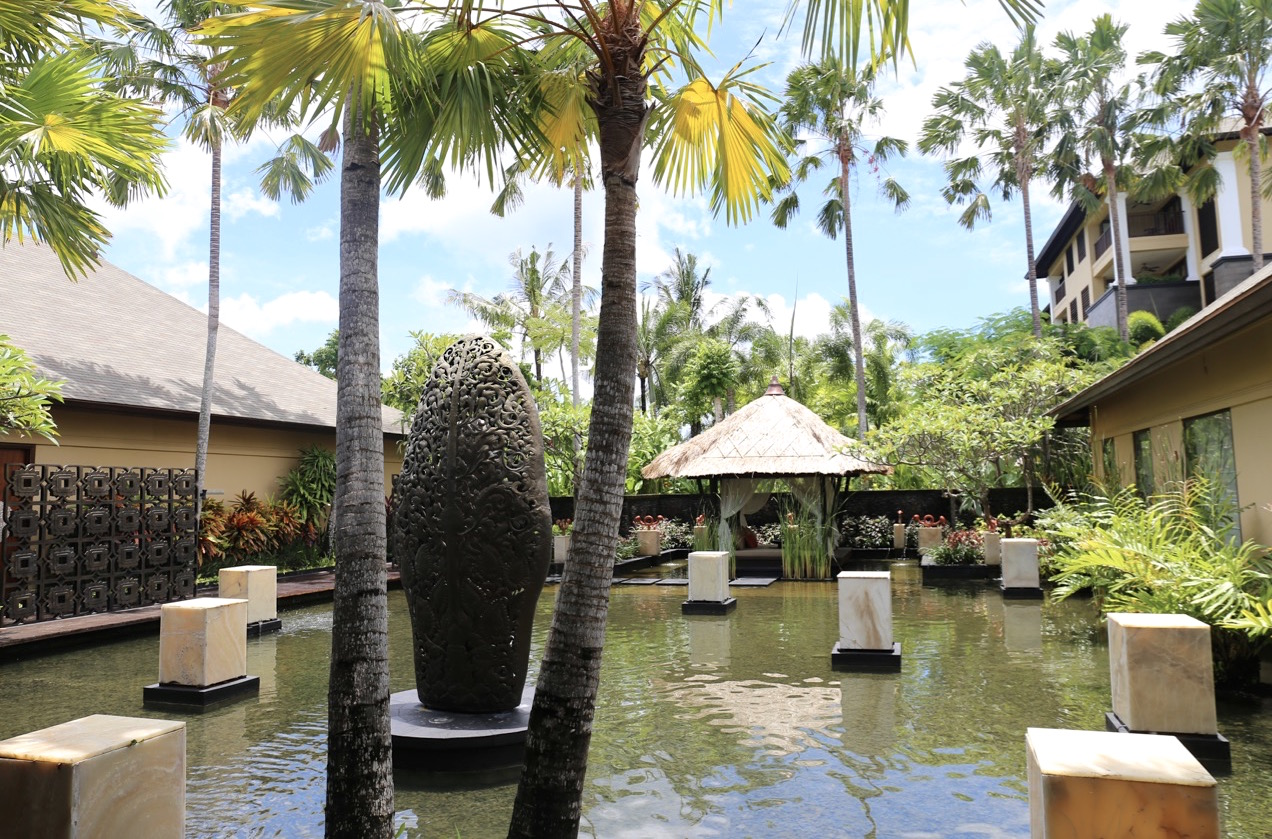 The Spa at St Regis Bali Resort.