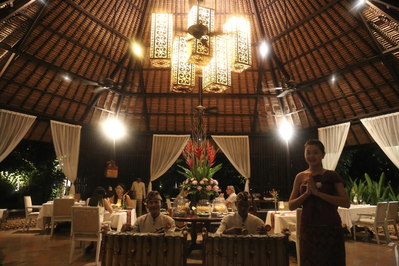 Dulang is the resort's signature Balinese fine dining restaurant.