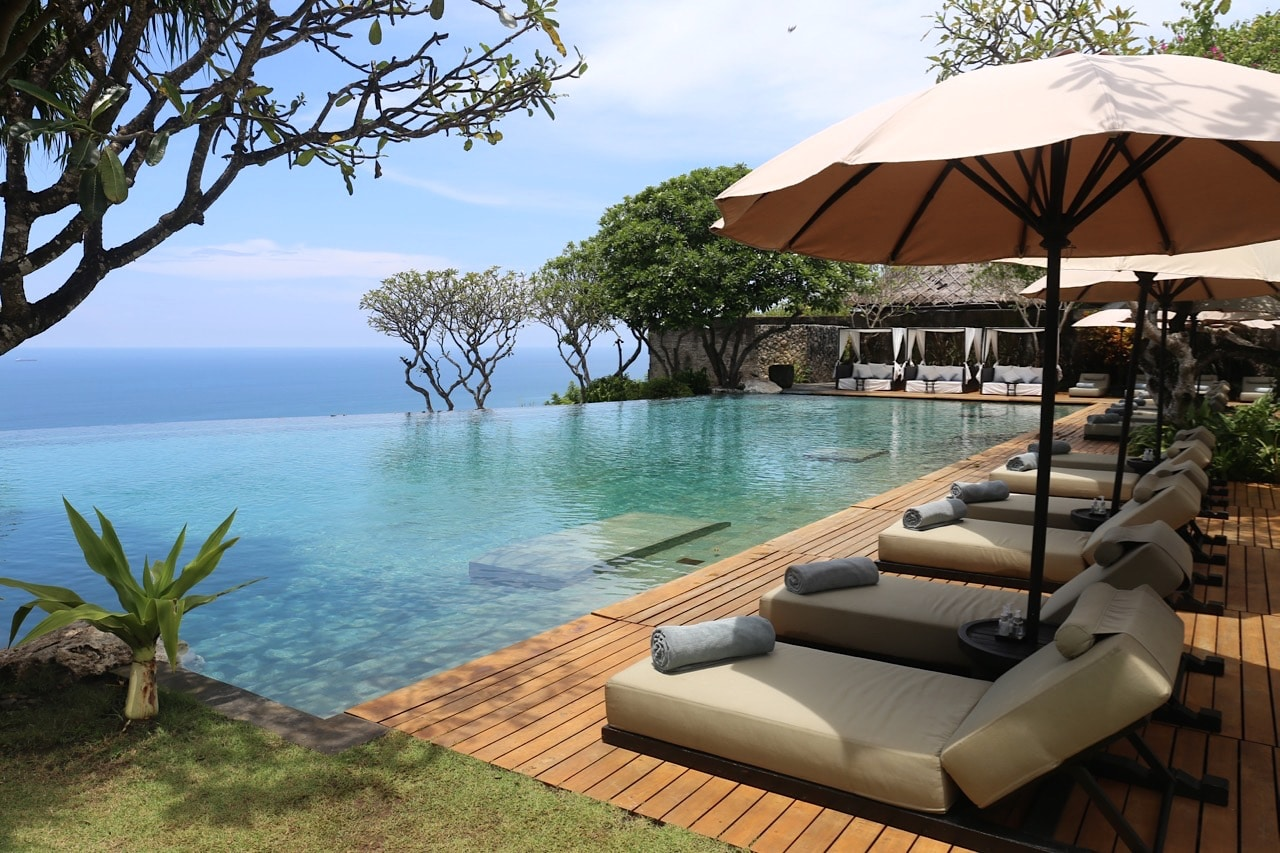 Bulgari Hotel is ranked as the best luxury resort in Bali.