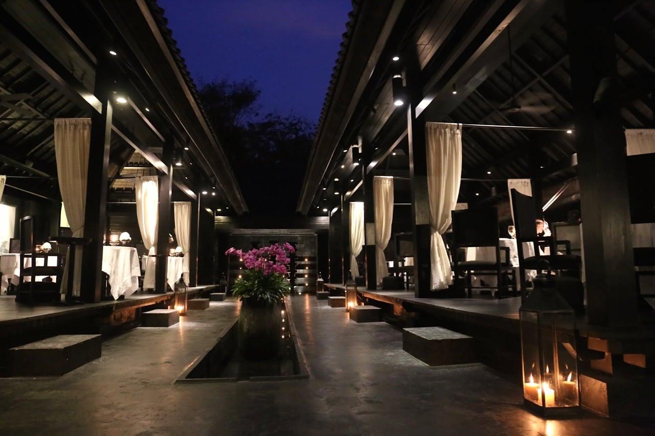 Il Ristorante-Luca Fantin is Bulgari Resort Bali's Italian restaurant.