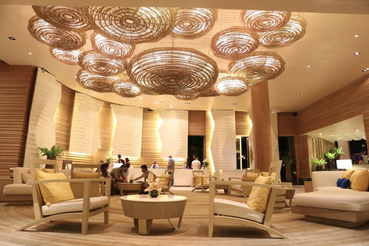 Amari Phuket Resort's design lovers lobby.