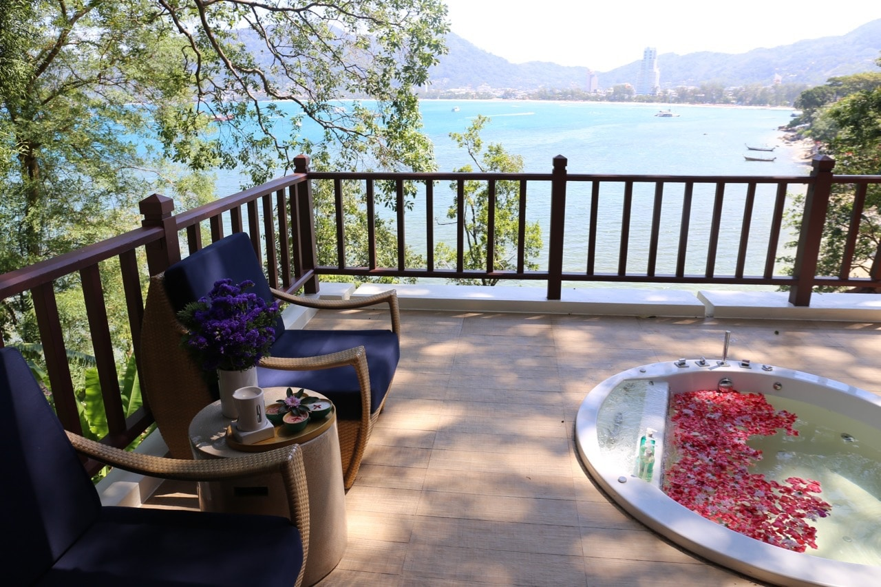 Enjoy a romantic afternoon with a view at Amari Phuket's Thai Spa.
