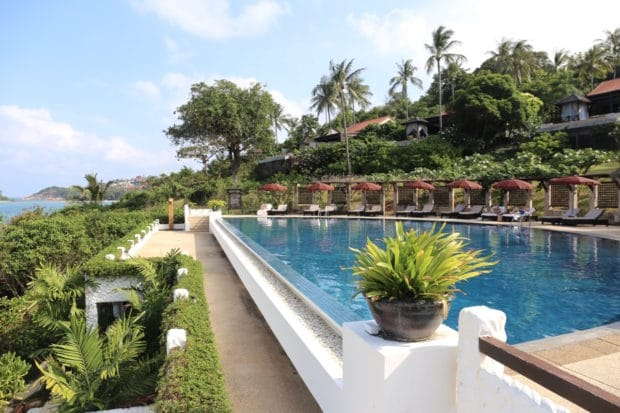 The Tongsai Bay Luxury Resort in Koh Samui