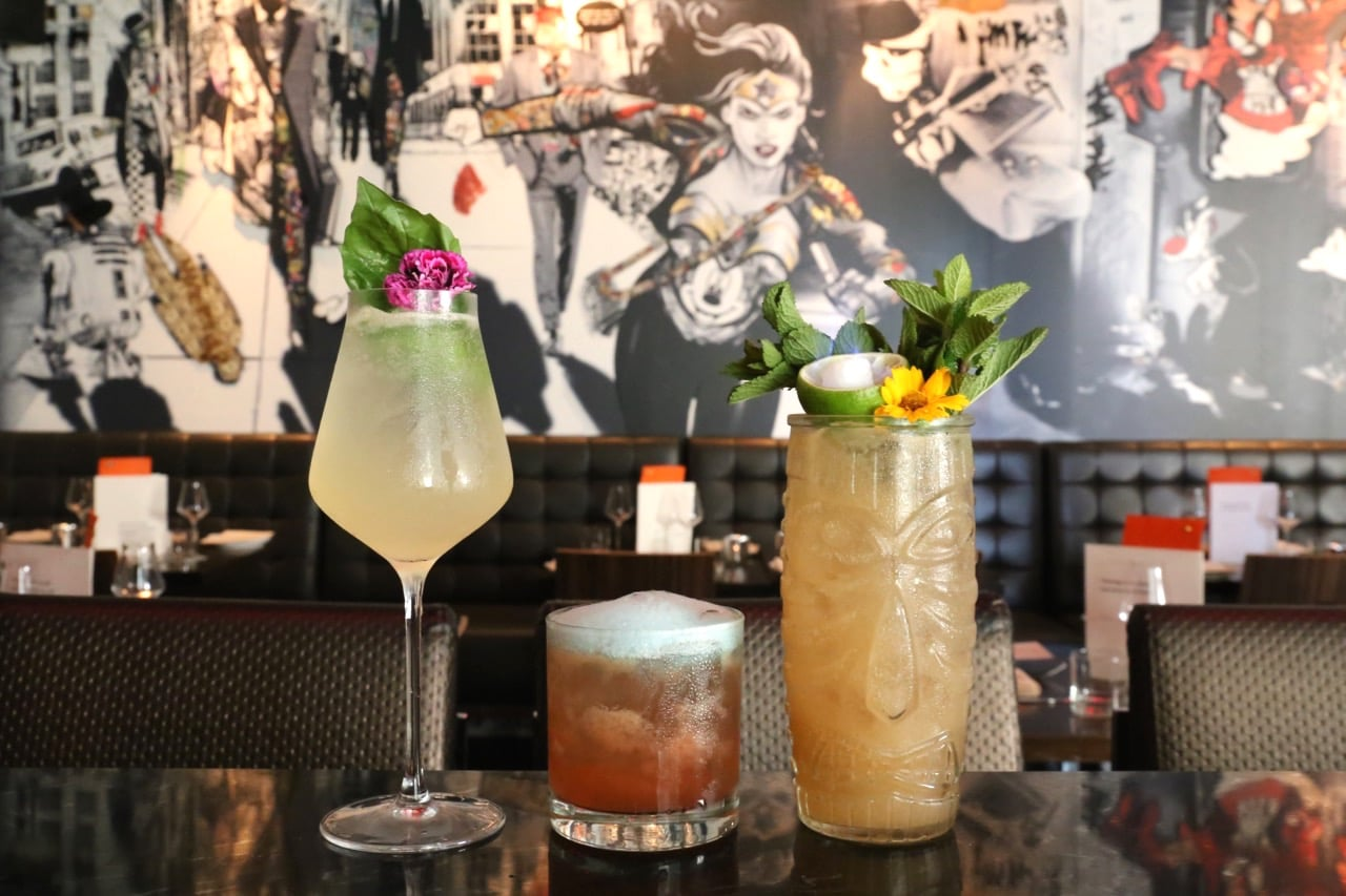 Figures is the best of the Yorkville restaurants for comic book fans and cocktail lovers.