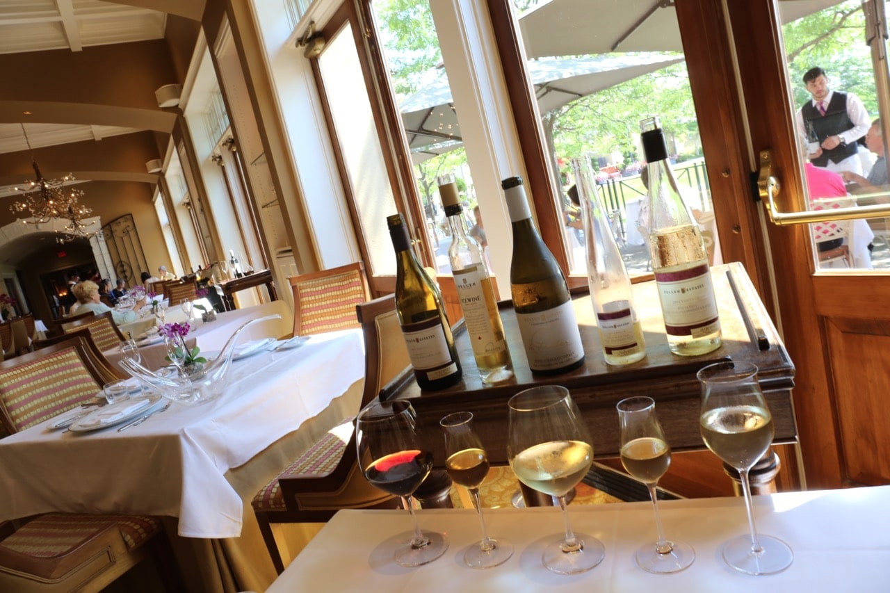 Peller Estate Winery offers tours, tastings and elegant fine dining restaurant.