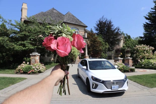 Jasmine Lorimer Goes on the Ultimate Date in Toronto with Hyundai Ioniq