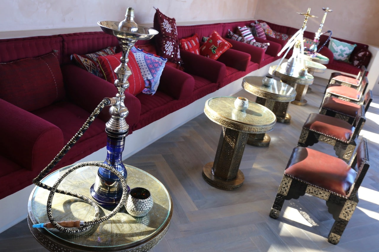 Hookah Bar at Sharq Oriental.