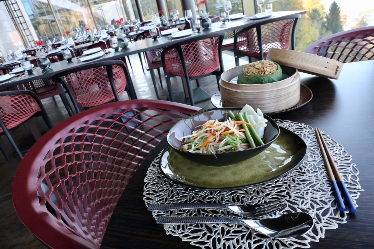 Enjoy an Asian feast at Spices Kitchen.