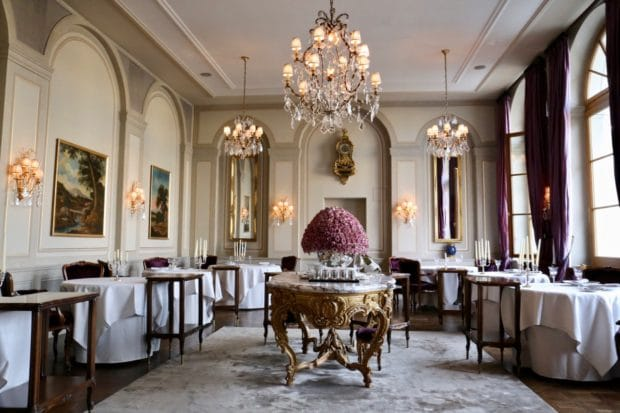 Grand Hotel Les Trois Rois in Basel
