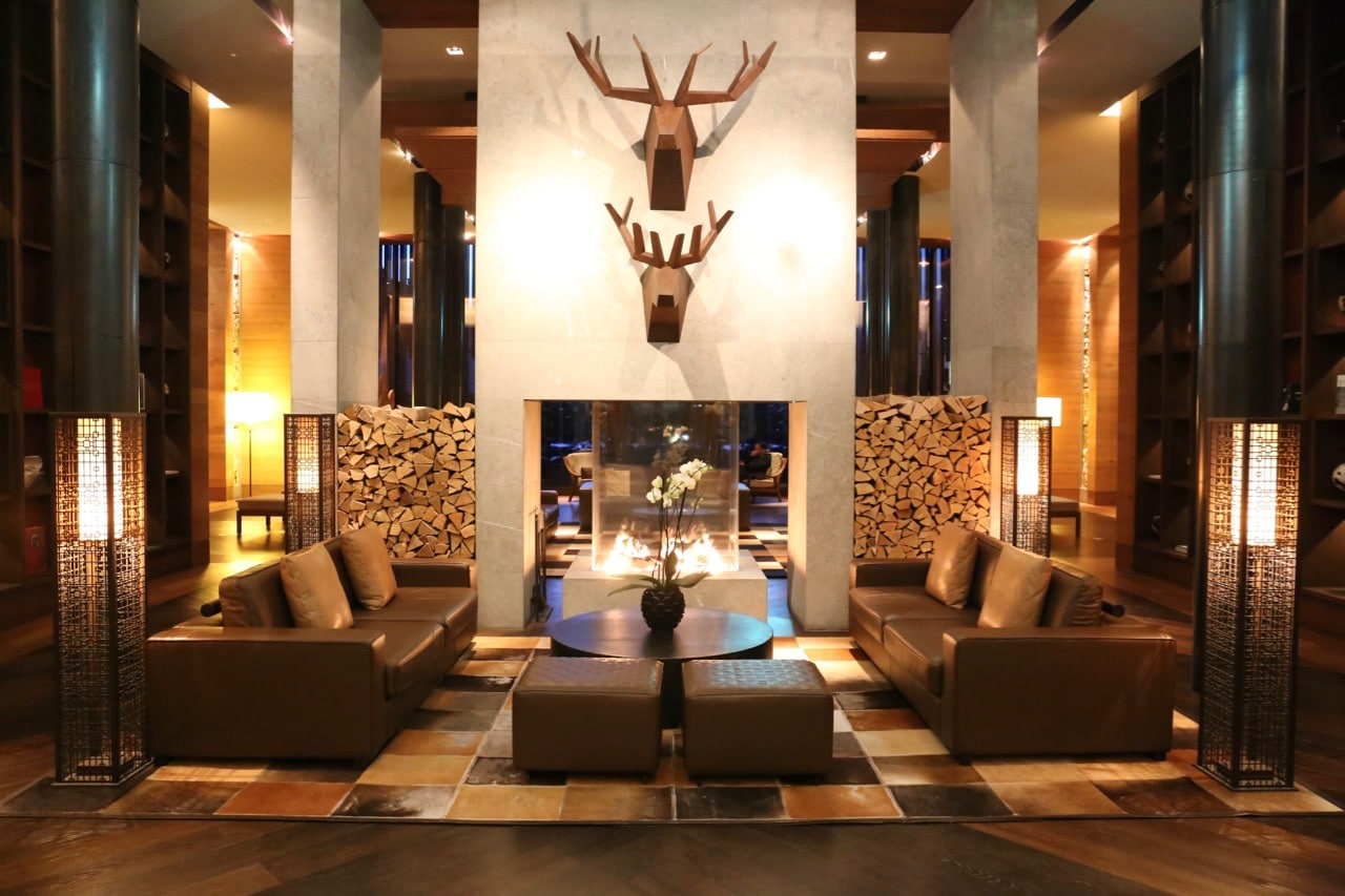 The Andermatt hotel offers contemporary Swiss alpine ski lodge vibes.