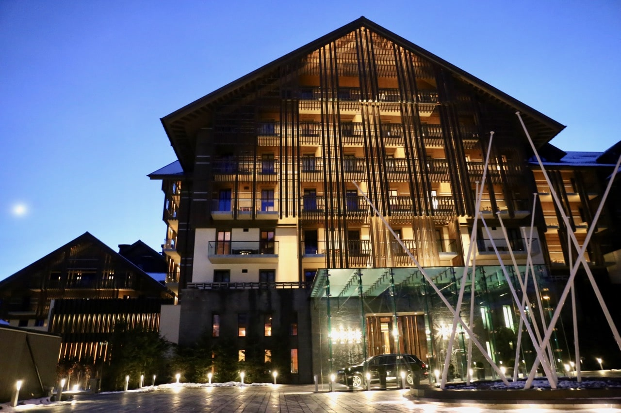 Chedi Andermatt is a 5 star luxury ski resort in Switzerland.