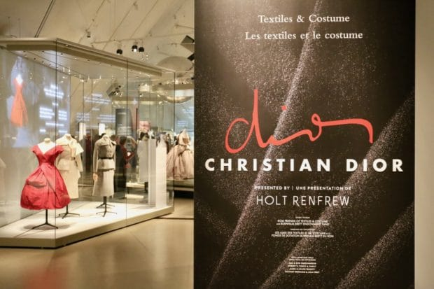 Christian Dior at Toronto's Royal Ontario Museum