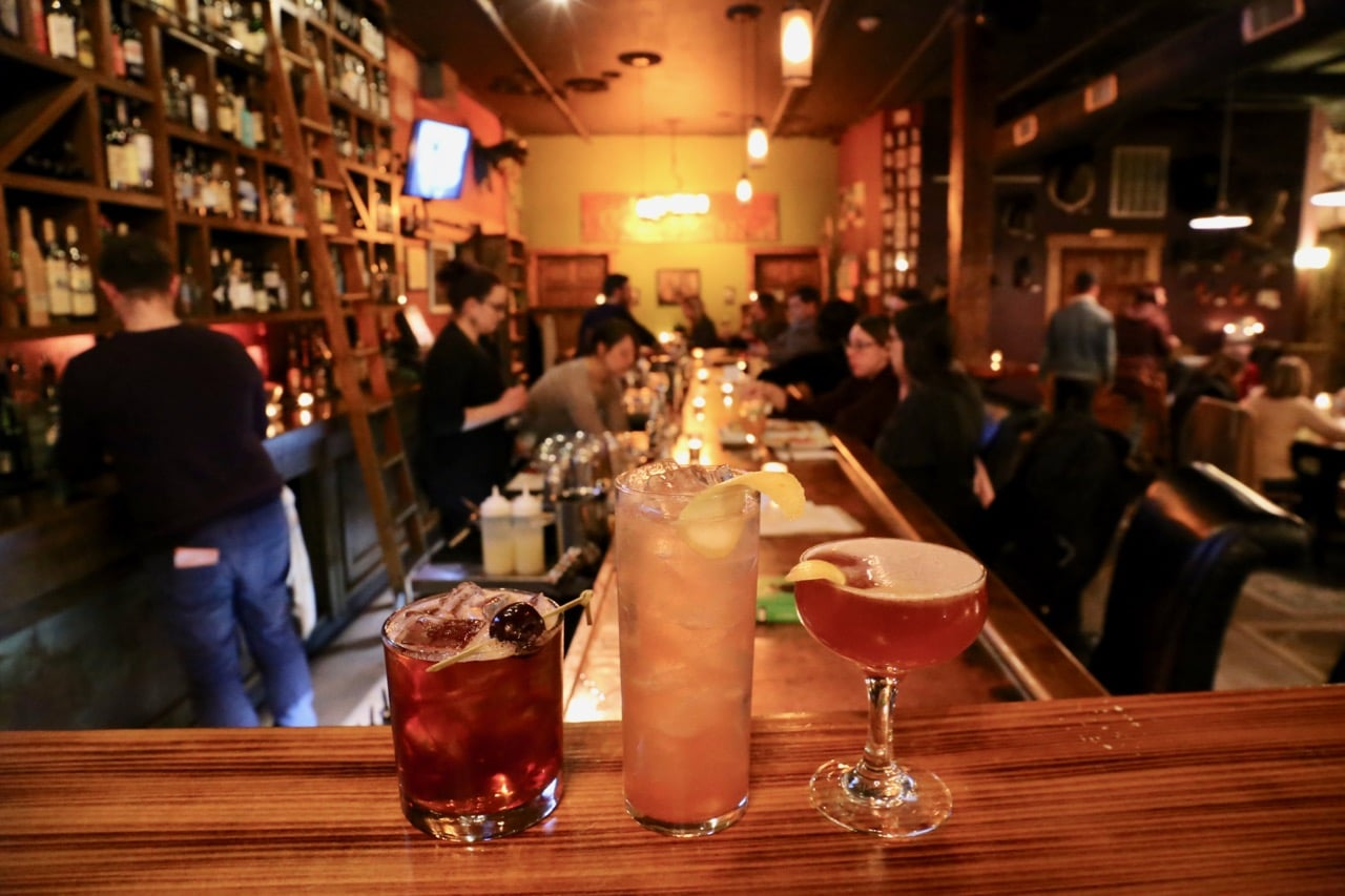Nox Cocktails is a popular local hang out.