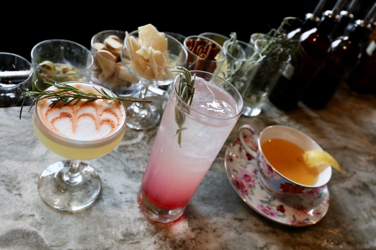 Enjoy cocktails during The Cub Room's popular brunch in Rochester.