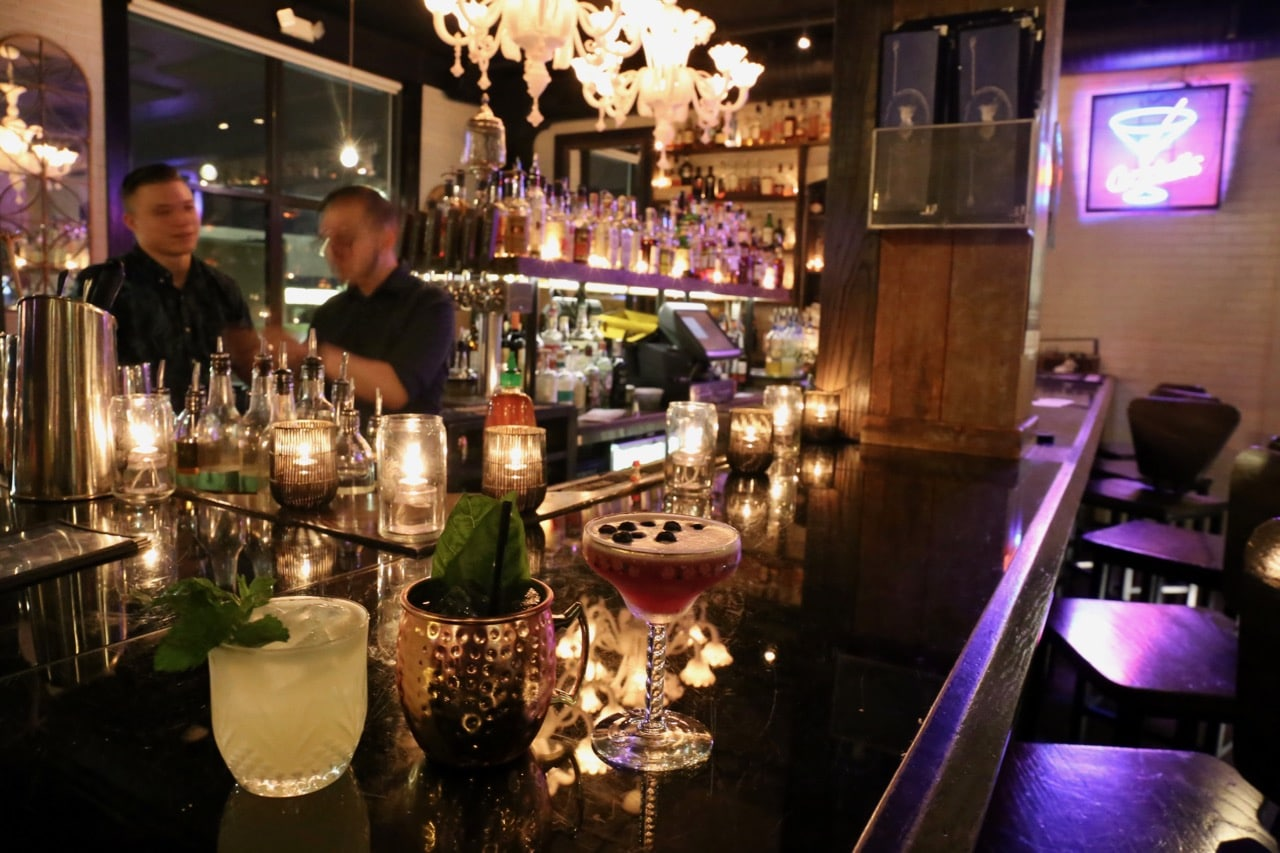 The Revelry pairs creative cocktails with Lowcountry cuisine.