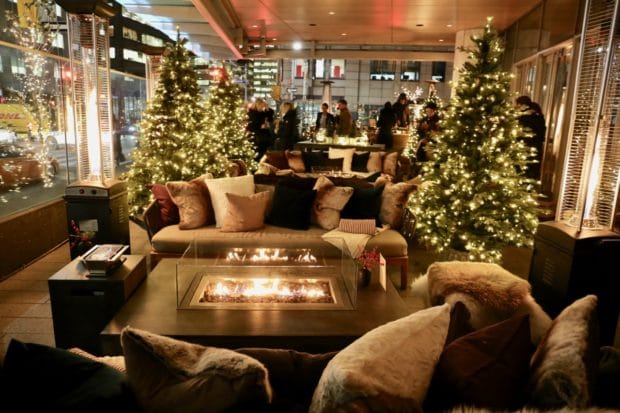 Celebrate the Holidays at Shangri-La Hotel Toronto's Winter Garden