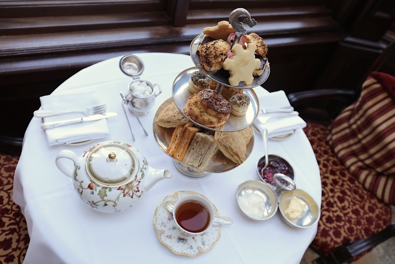Keep warm with a pot of Early Grey during Afternoon Tea at Prince of Wales Hotel.