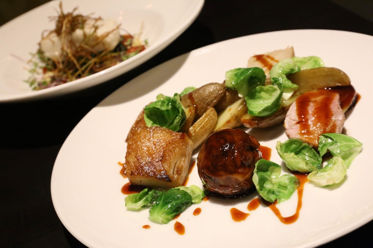 A romantic dinner at Fairmont Ottawa's Wilfrid's Restaurant.