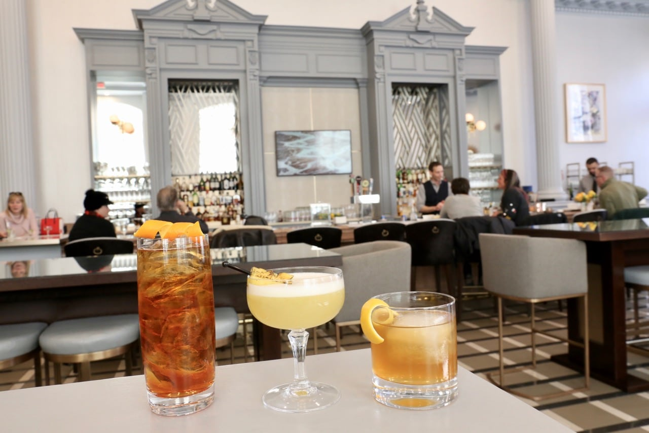 Zoe's Lounge at Fairmont Chateau Laurier is ranked as one of the best Ottawa cocktail bars.