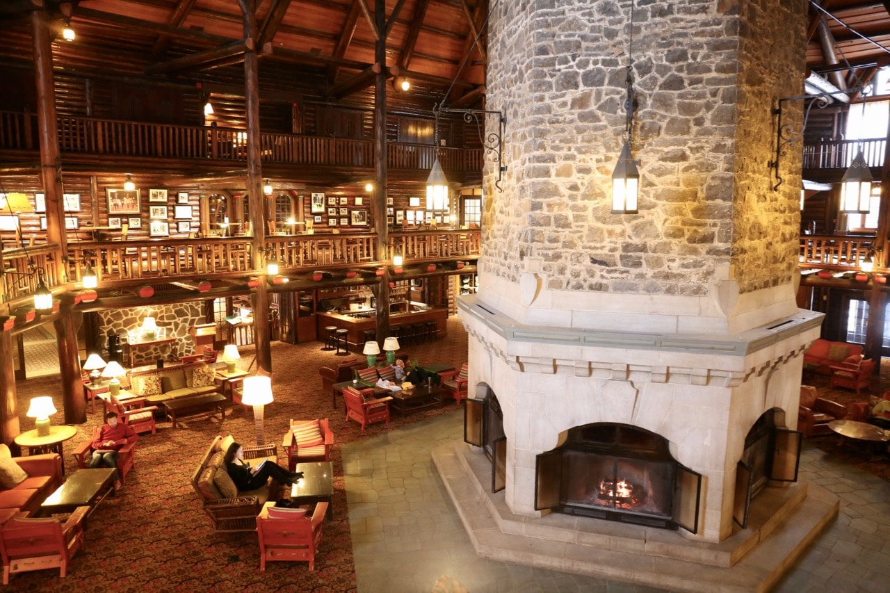 Canadian Road Trip Must-See: Cozy rural retreat at Fairmont Montebello.