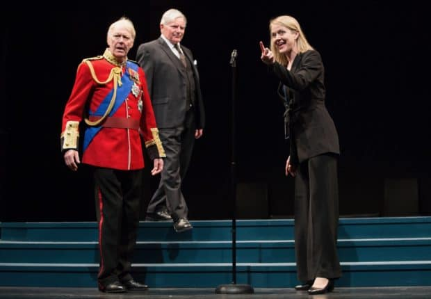 In King Charles III Royals Take the Stage to Debate Freedom of the Press