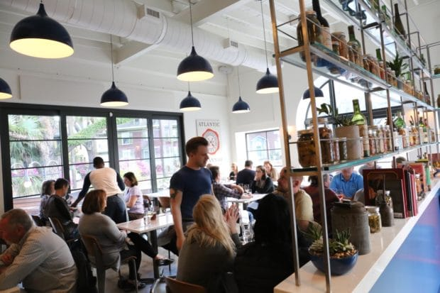 Savannah's Prettiest Patio Found at Atlantic – A Neighbourhood Eatery
