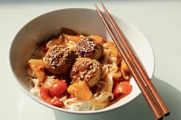 Sweet and Sour Pork Meatball Recipe