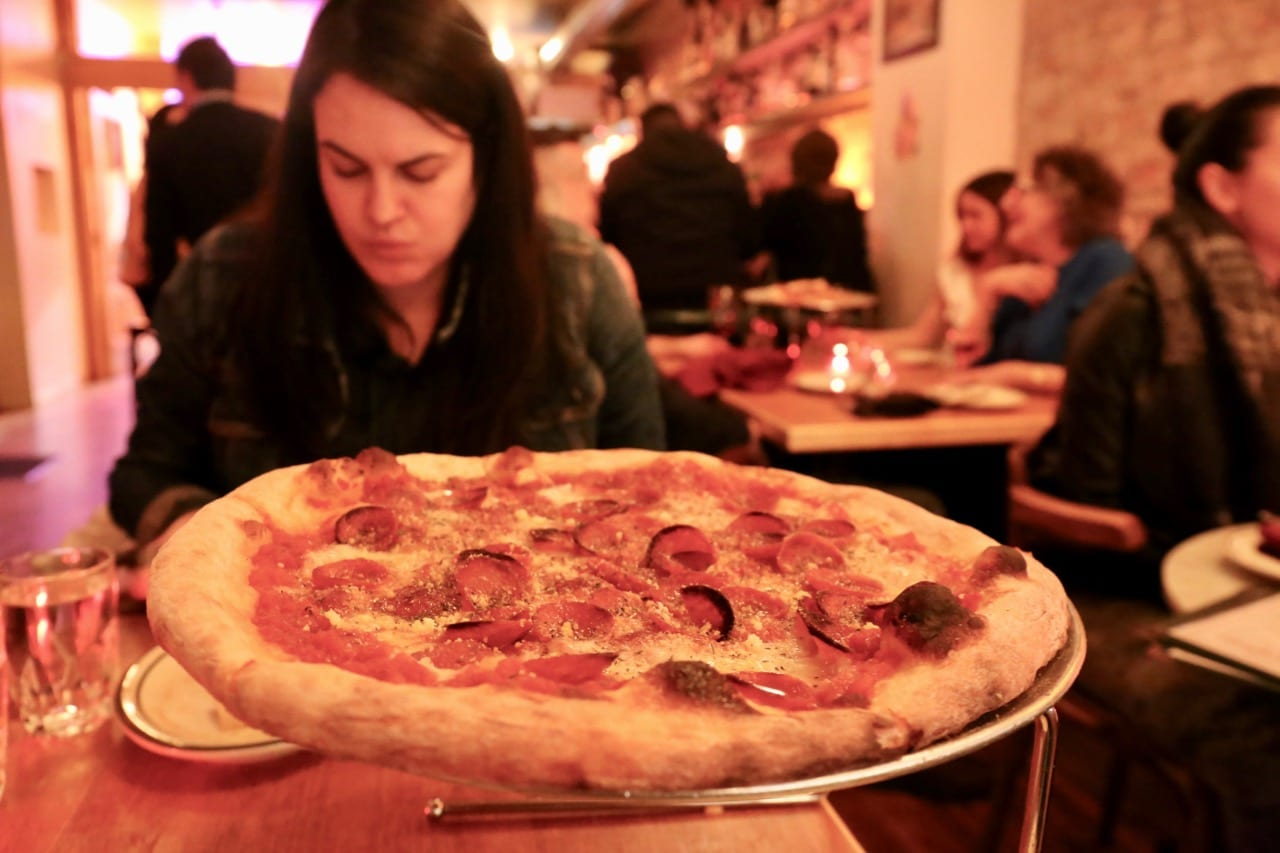 Superpoint is an American-style pizzeria on Ossington.