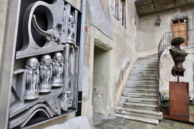Haunting Alien Images from the HR Giger Musuem in Gruyere