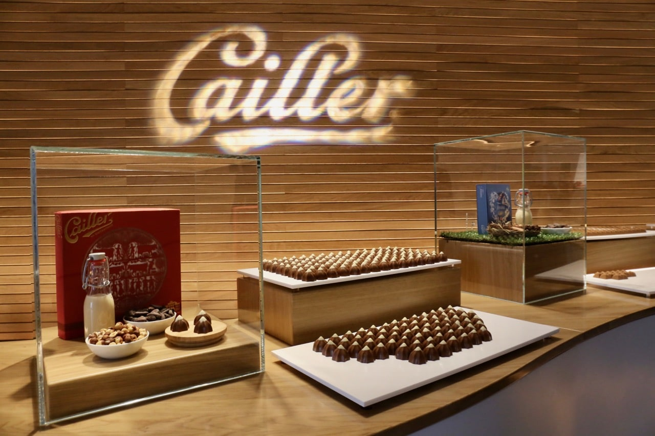 Maison Cailler offers a fun interactive museum experience for chocolate lovers in Switzerland.