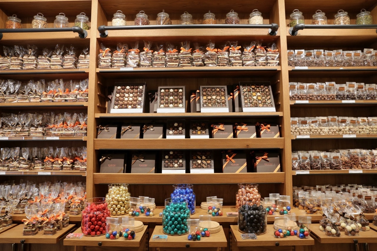 Best Chocolate Shops in Swizterland: Vanini Cioccolato is an Italian chocolatier in Lugano.