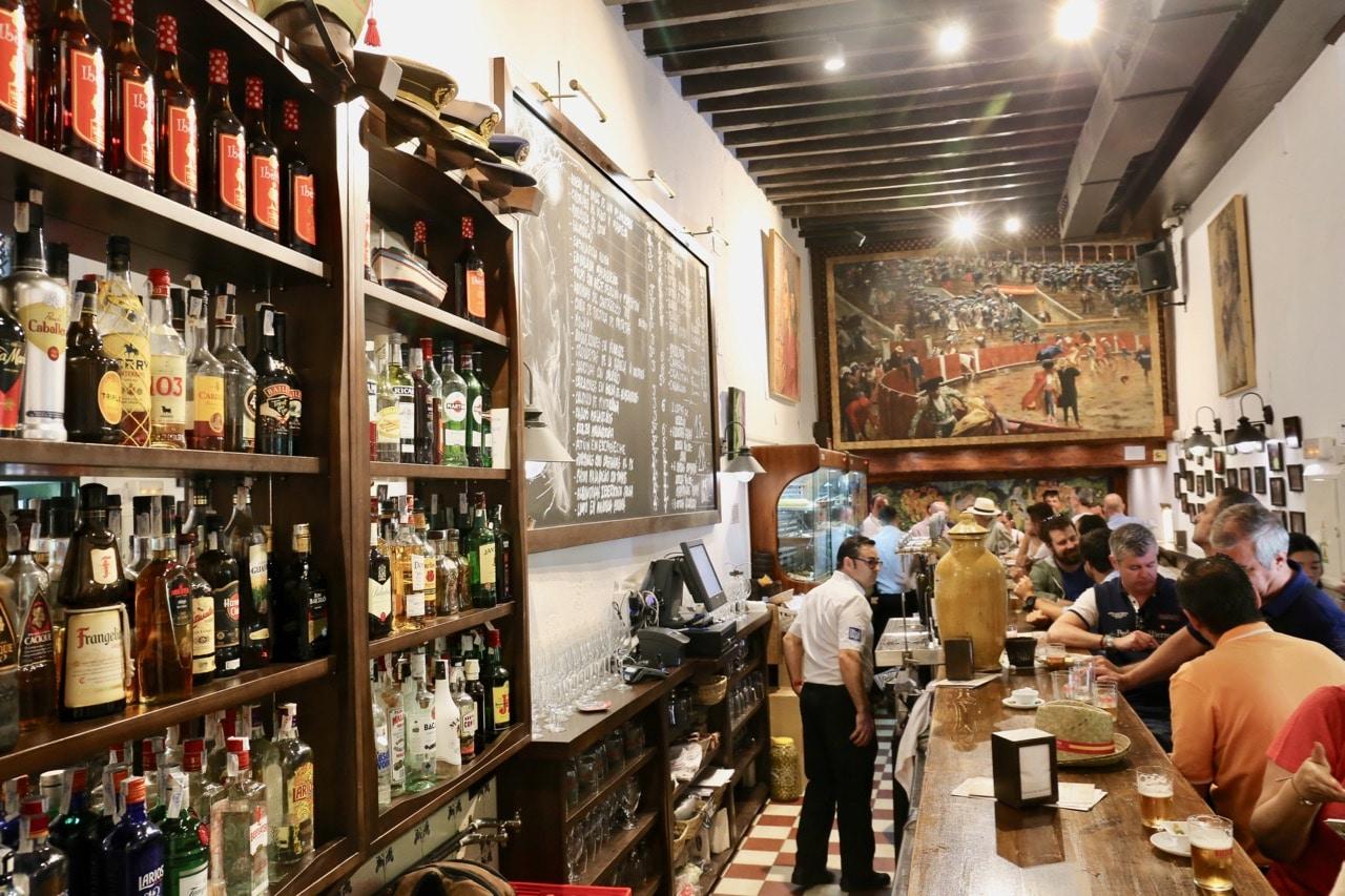 Bodega Bar El Pimpi is Malaga's best tapas bar.