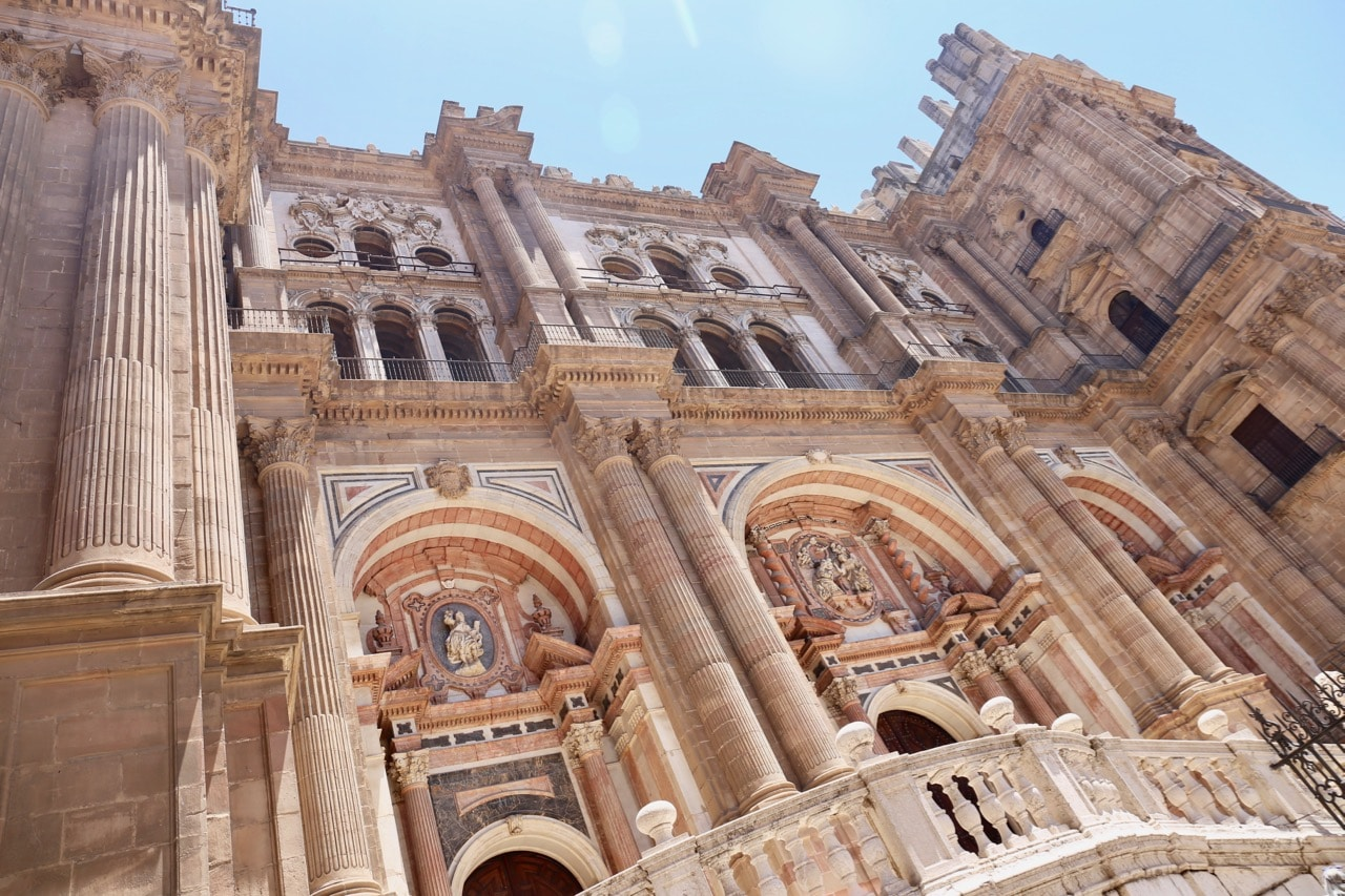 Malaga's architectural icon its historic cathedral.