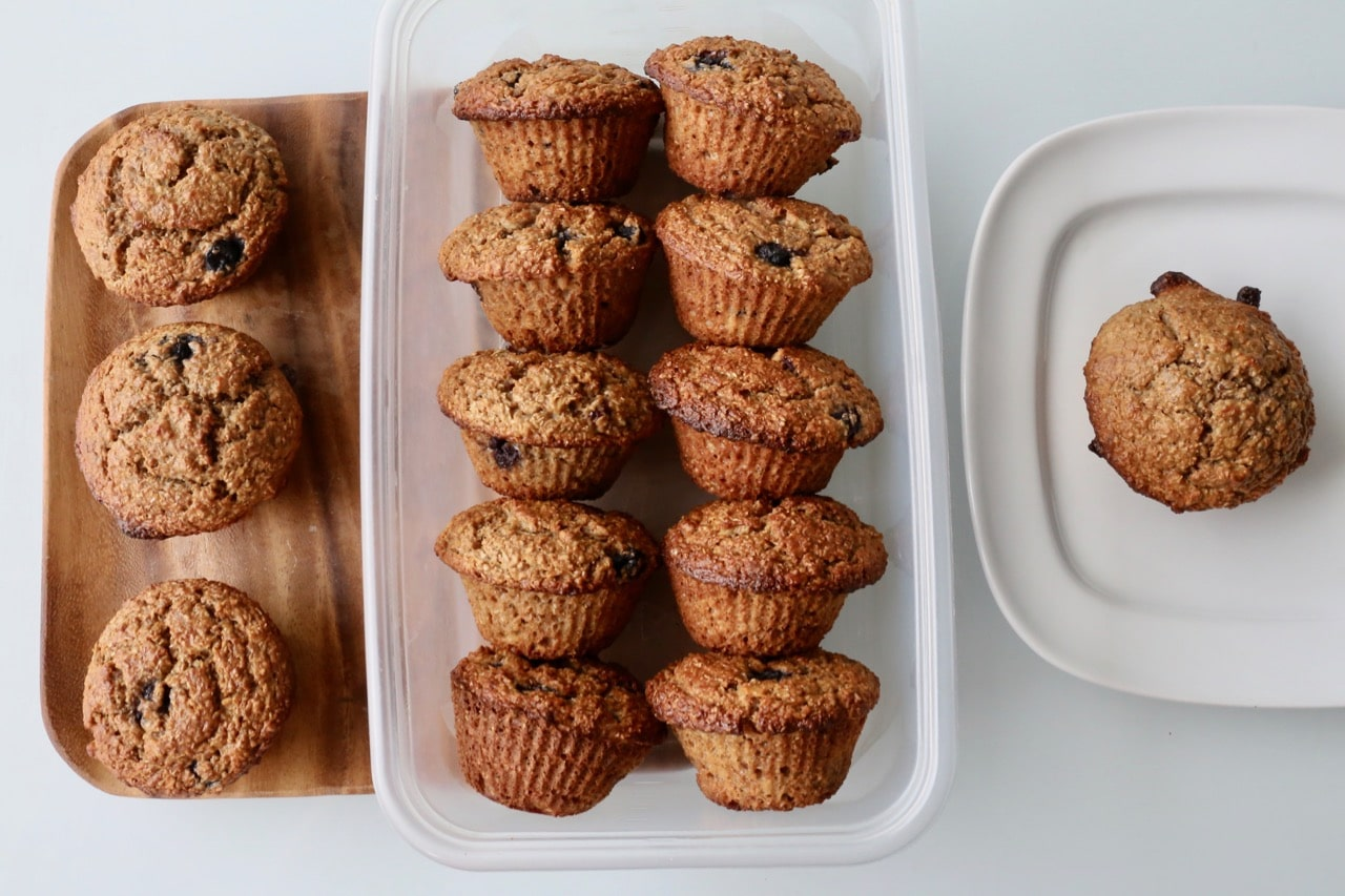 Blueberry Banana Muffin storage