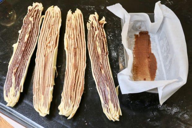 Cinnamon Babka logs