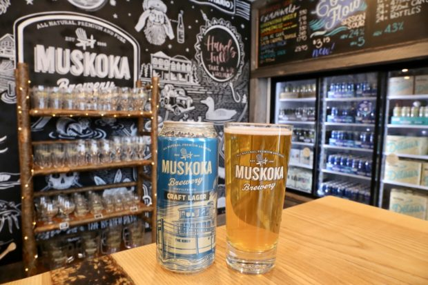 Muskoka Brewery Craft Lager