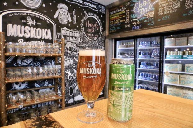 Muskoka Brewery Cream Ale