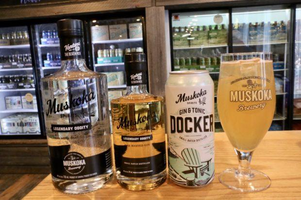 Muskoka Brewery Gin
