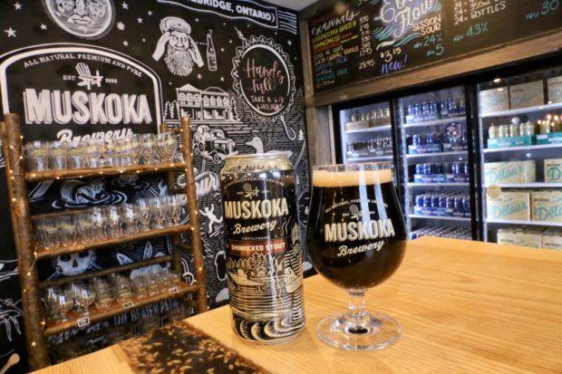 Muskoka Brewery Shinnicked Stout